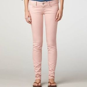 American Eagle Pink Skinny Stretch Jeans 8
